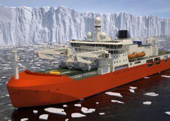 The RSV Nuyina. Photo credit: Australian Antarctic Program