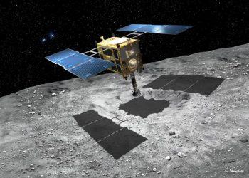 Hayabusa-2. Photo credit: Japanese space agency Jaxa