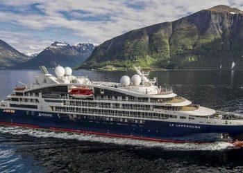 The Le Lapérouse cruise ship. Photo credit: Ponant