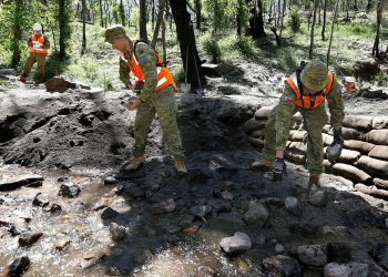 Army engineers helping with the clean-up during the Black Summer bushfires. Photo credit: Australian Army