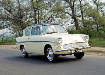 1959 Ford Anglia. Photo credit: Wikimedia Commons