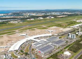 Brisbane Airport. Photo credit: Brisbane Airport Corporation via Facebook
