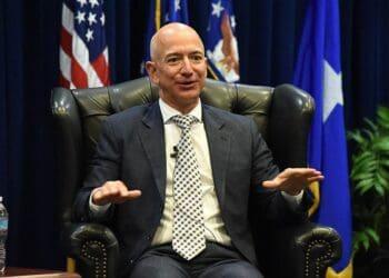 Amazon boss Jeff Bezos is 57 - would you hire him? Photo credit: Wikimedia Commons