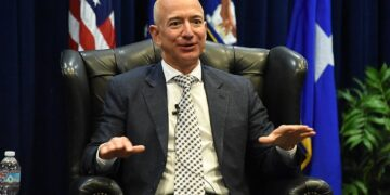 Amazon boss Jeff Bezos is 57 - would you hire him? Photo credit: Wikimedia Commons