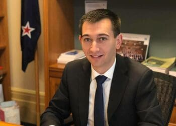 New Zealand MP Simeon Brown. Photo credit: National Party