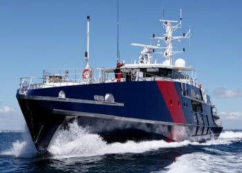 A Cape-class patrol vessel of the Australian Border Force. Photo credit: ABF