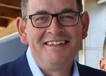 Premier Daniel Andrews … every Victorian has played their part. Photo credit: Bentleigh electorate via Wikimedia Commons