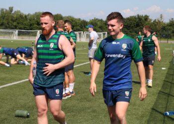 London Irish hit the ground running at pre-season training