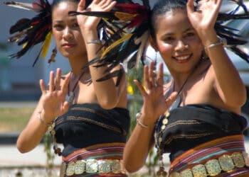 Timorese Dancers. Photo credit: Graham Crumb via Wikipedia