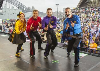 An employee was fairly dismissed for attended a concert by The Wiggles with his son while on personal/carer's leave. Photo credit: Spasmsmash via Wikipedia