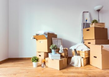 5 Tips to make moving to a different home easier