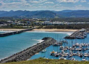 Coffs Harbour is one of the areas in regional NSW where lockdown restrictions are being eased. Photo credit: Paul Lakin via Wikipedia