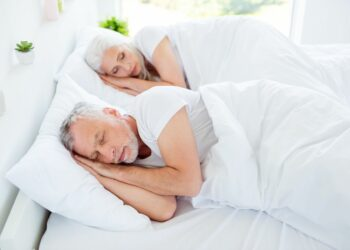 How do older people enjoy a good night's sleep