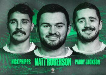Loose forward Matt Rogerson will captain London Irish in the upcoming 2021/22 season.