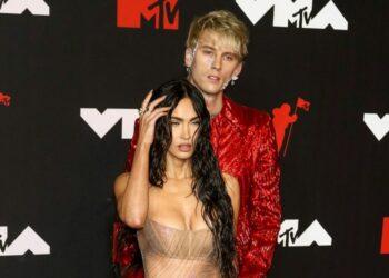 Megan Fox went 'naked' to VMAs for Machine Gun Kelly