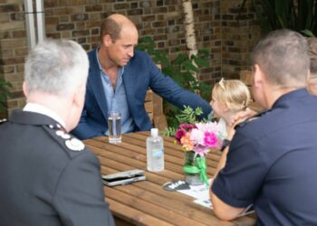 Prince William marks 999 day