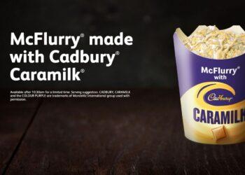 McDonald's Australia launches New Cadbury Caramilk McFlurry